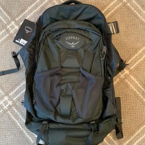 NWT Osprey Farpoint 55 hiking/travel Backpack